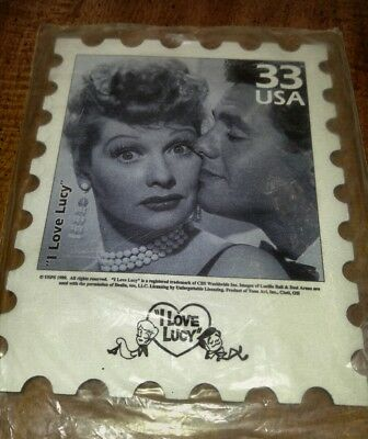 I Love Lucy Mouse Pad 33 stamp Ricky new in package