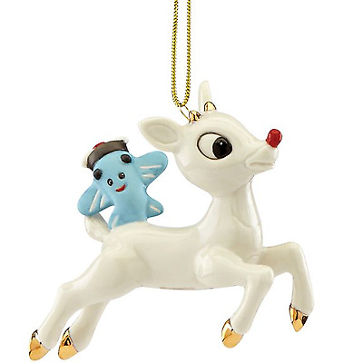 Lenox Lift Off Rudolph Ornament  New for 2017