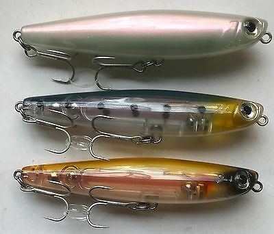 HTO Glide Bass Fishing Surface Lure Topwater Bass Lure 90mm 12.3g