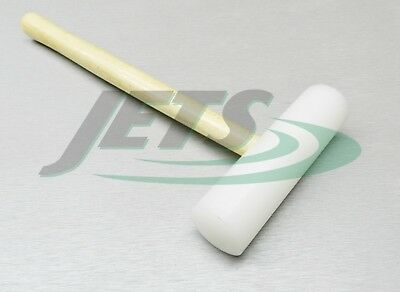 """Nylon Hammer 1-1/4"""" Plastic Mallet Head Dome Face Forming Dapping Jewelry Making"""