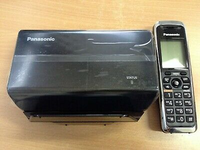 #2001 USED Panasonic KX-TGP500 SIP DECT VoIP Cordless Phone System