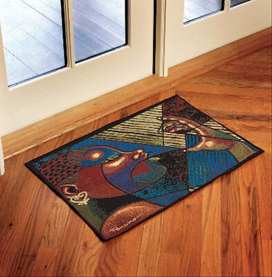 Precious Treasures African American Art Tapestry Accent Rug ~ Larry Brown