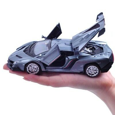 New 4 Color 1:32 Scale Lamborghini Veneno Alloy Diecast Toys Car Model  Car Xmas