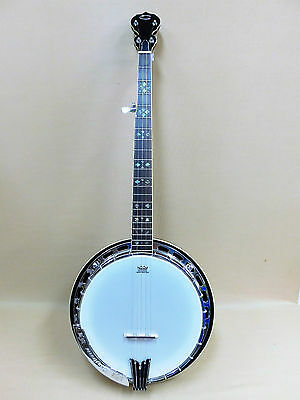 Caraya MR-5 Maple-Claret 5-String Banjo with Tone Ring + Gig Bag - PICKUP ONLY