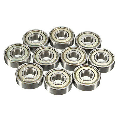 10x 8*22*7mm 608ZZ Deep Groove Ball Bearing For Spinner Skateboard Drift Plate