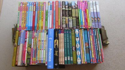 75 Lot Young Reader CHAPTER & SERIES Books, mainly Girl's Interest