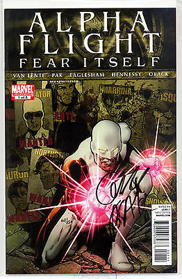 Alpha Flight #1 - Dynamic Forces Edition 62/150 with COA Signed by Greg Pak!