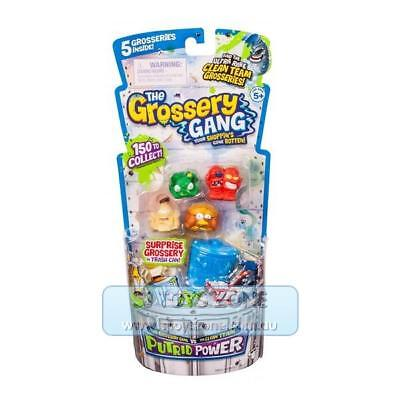 The Grossery Gang S3 Putrid Power Regular Pack Collectible with 5 Grosseries