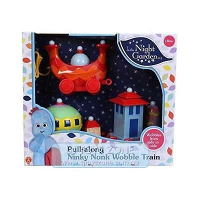 In The Night Garden - Pull Along Ninky Nonk Wobble Train Set Toy for Kids