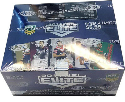 NRL 2014 RUGBY LEAGUE - Elite Trading Cards ~ Sealed Box (24ct) #NEW