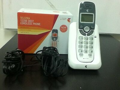 Telstra 12200 dect cordless phone - USED