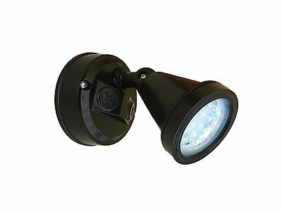 Outdoor wall mounted Black LED light