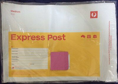 Express Post Satchels 3KG Medium - 10 Pack - FREE EXPRESS POST DELIVERY