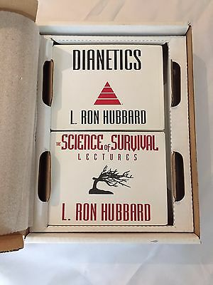 Science of Survival and Dianetics Lectures set - L. Ron Hubbard Scientology