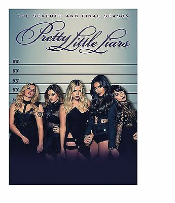 Pretty Little Liars: The Complete Seventh Season 7 (DVD, 2017, 4-Disc Set) NEW