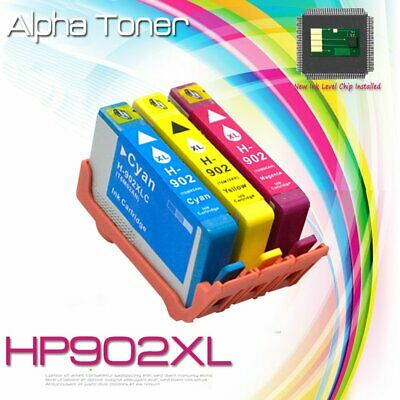 3 Pack 902 XL Color Ink Cartridge for HP Officejet Pro 6960 6968 6970 6975 6978