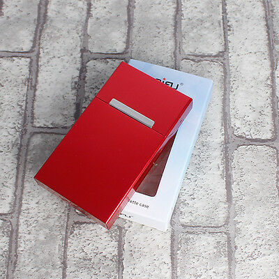 Cigarette Tobacco Cigar Case Holder Aluminum Pocket Box Container Pack 4#