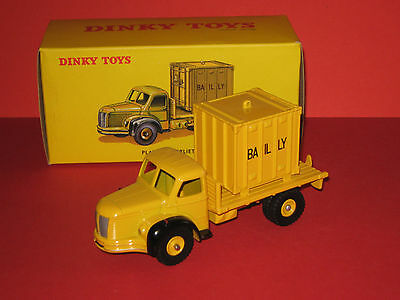 DINKY TOYS Atlas camion BERLIET porte container bailly ref 58 IN NEUF en boite