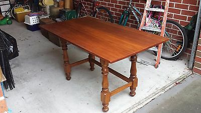Solid timber vintage table