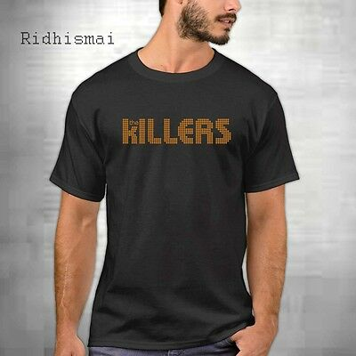 The Killers Rock Band Logo Men/'s Black T-Shirt Size S M L XL 2XL 3XL