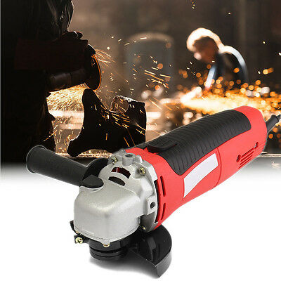 """4.5"""" 650W 115mm Electric Angle Grinder Heavy Duty Cutting Grinding Sanding Tool"""