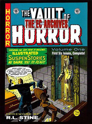 The EC Archives: Vault Of Horror Volume 1 Hardcover