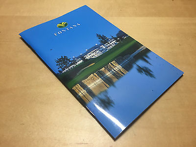 Golf Map - Golf & SPORT CLUB FONTANA - For Collectors