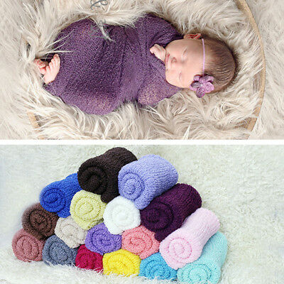 Newborn Baby Girls Boys Crochet Knit Photo Photography Prop warm Outfits outdoor