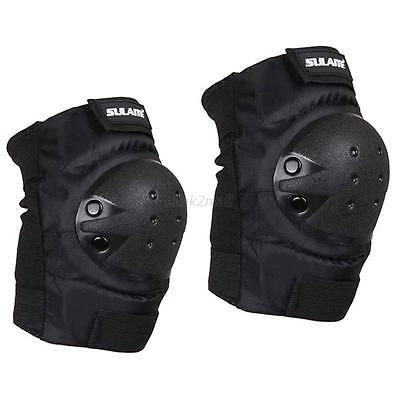 Sports Brace Knee Support Pad Armor Guard Protector Combat Skate Work Wear Mens