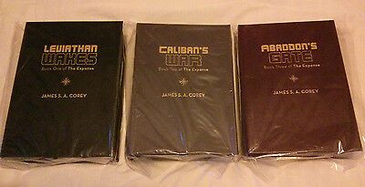 Expanse series lettered editions + rights  James S. A. Corey  Subterranean Press