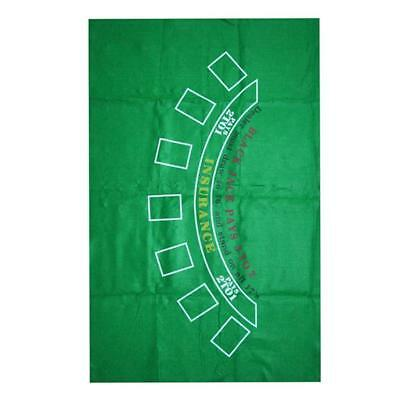 Blackjack Texas Table Layout Cover Poker Table Cloth Casino Felt Layout