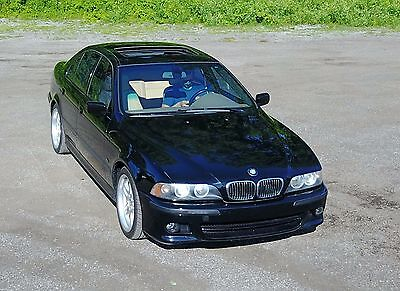 2003 BMW 5-Series 540i M BMW 540 M Sport Package NO RESERVE Very Nice Rare Example