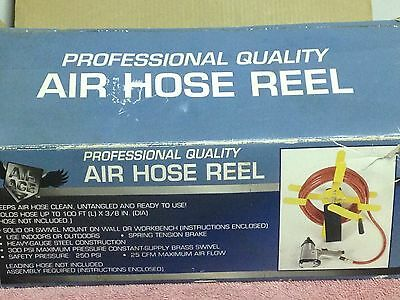 Air Ace Professional Quality 100 Ft. Air Hose Reel