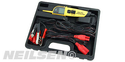 Neilsen Automotive Electrical Tester Probe 12/24V Power Multi Fuction Meter
