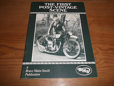 Book. Motorcycles. The First Post-Vintage Scene. BMS. Pictorial Record. 1st.