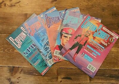 Joblot Captain Scarlet & the Mysterons Comic Issue 5 1993 Issues 8 9 10 13 1994