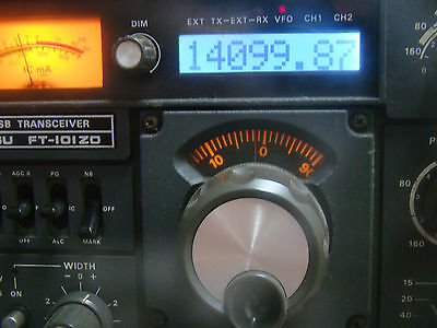 Yaesu FT-101ZD FT-901DM FT-902DM FT-107M LCD Counter Module Replace MSM9520RS
