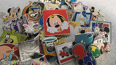 Disney Trading Pins_100 Pin Lot_No Doubles_Free Shipping_Random Mix_C30