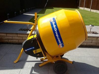 Belle Minimix 130 Electric Cement Mixer 240v With Stand