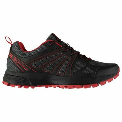 2f7adbaf2 Karrimor Mens Gents Caracal Trail Running Shoes Footwear Laces Fastened Mesh