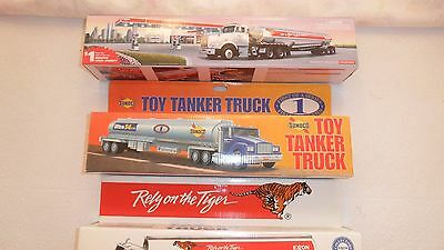 Lot of 3 Toy Trucks 2 Exxon Trucks 1993 - 1997 & 1 Sunoco Truck 1994 - New
