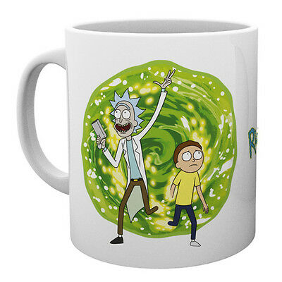 Rick And Morty Mug Ceramic Cup Coffee Tea Fun Gift New Official Licensed Product
