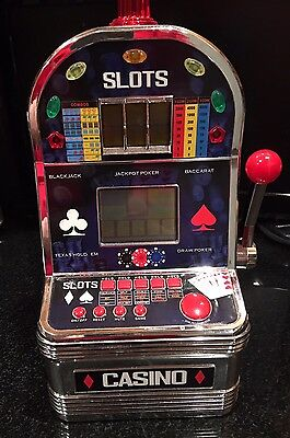 Excalibur Deluxe Virtual Casino 6 - in-1 Electronic Video Game Poker