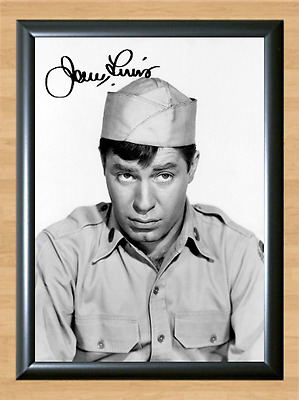 Jerry Lewis The Nutty Professor Signed Autographed A4 Photo Poster Memorabilia