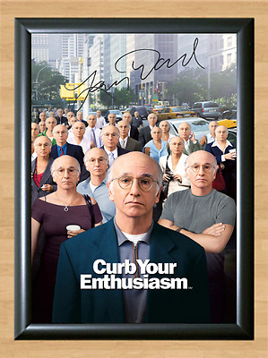 Curb Your Enthusiasm Larry David Signed Autographed A4 Photo Poster Memorabilia