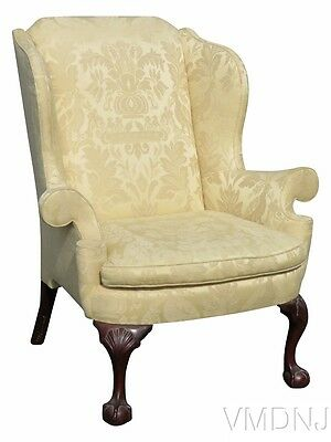 VMD1130-Kindel Winterthal Ball & Claw Wing Chair