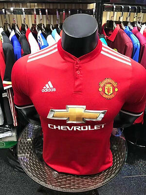 Manchester United Home 2017/2018,  Football Shirt Sizes S - 4XL