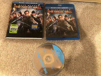 The Great Wall Bluray 1 Disc Set ( No Digital HD)
