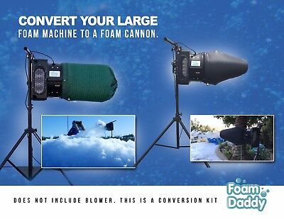 Foamdaddy Baby Foam Cannon Conversion Kit For Large Foam Machine