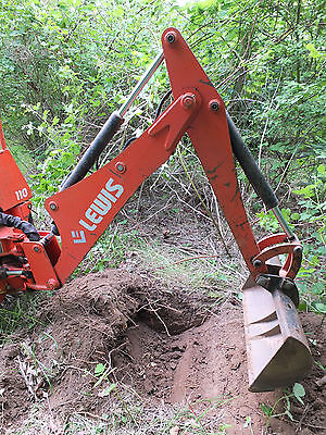 """BACKHOE EXCAVATOR for Compact Tractor, """"Lewis – Landlord 110"""""""